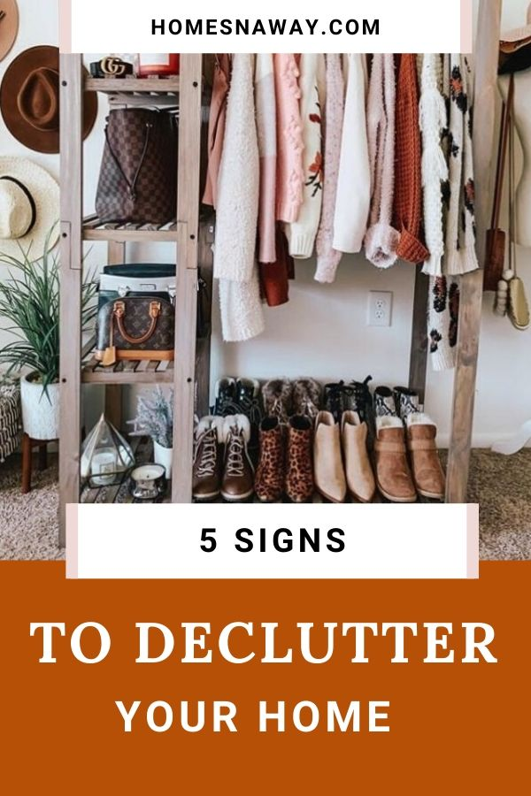 5 Common Signs It's Time to Declutter Your House