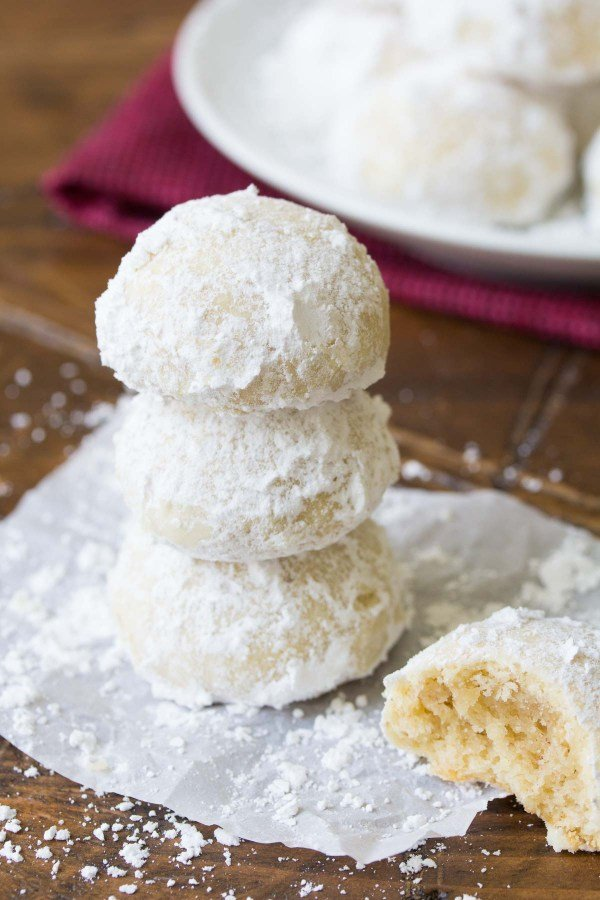 10 Yummy Snowball Cookies Recipes For Christmas