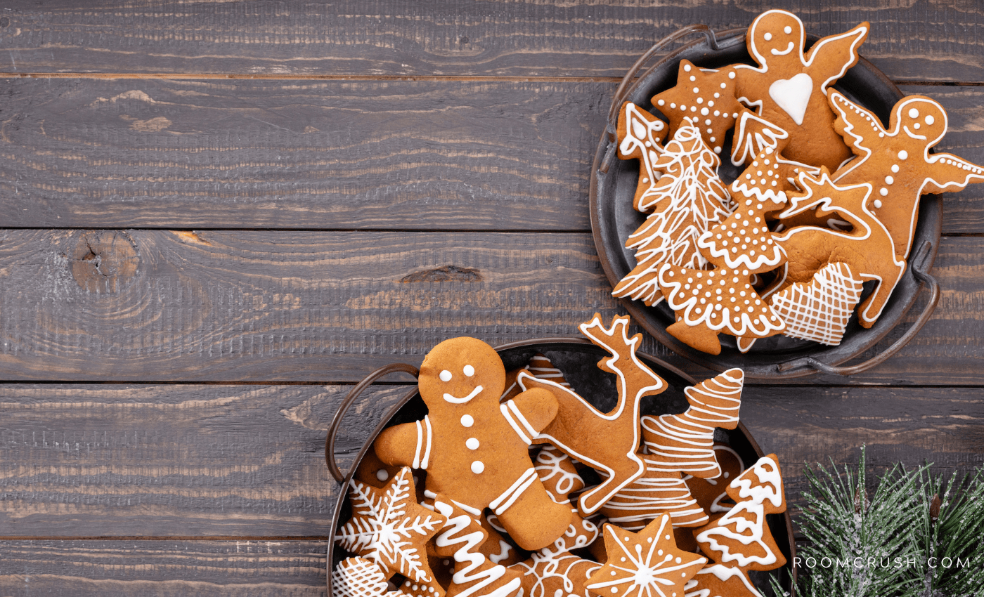 Amazing gingerbread cookies for holiday baking