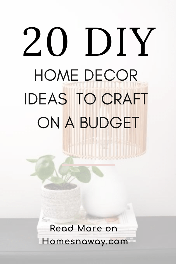 20 DIY Home Decor Ideas: Easy Crafts From The Dossier Blog