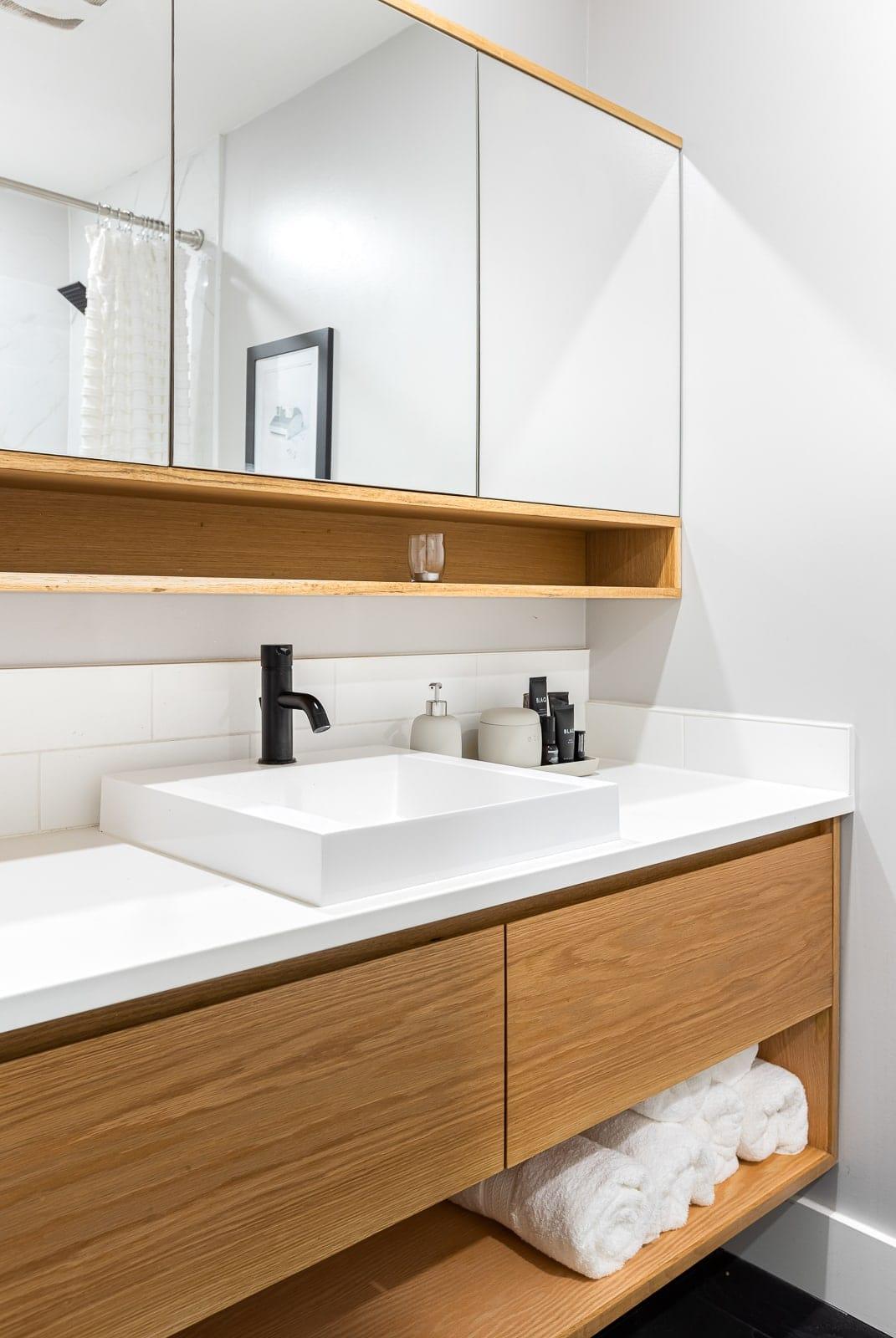 tiny bathroom makeover reno ideas raddadbuilds roomcrush