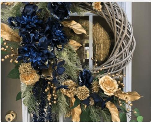 fabulous christmas wreath