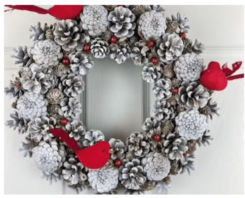winter wreath birds