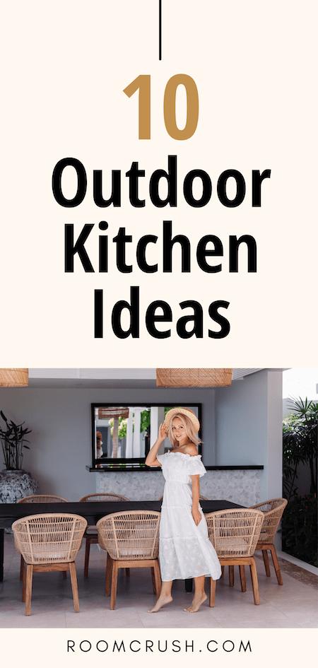 inviting outdoor kitchen ideas inspiration