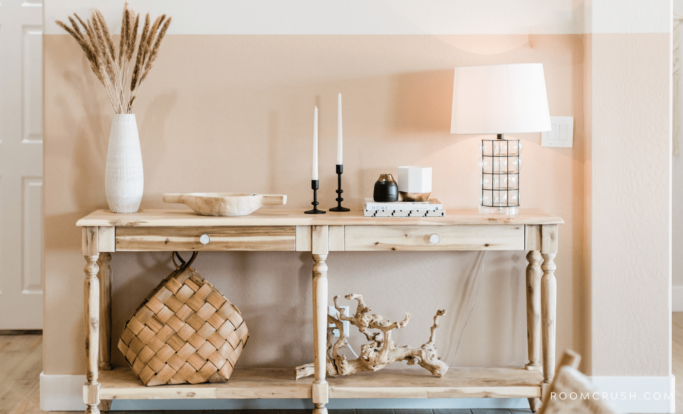 Stylish Console Table Decor - Make Your Home Look Expensive