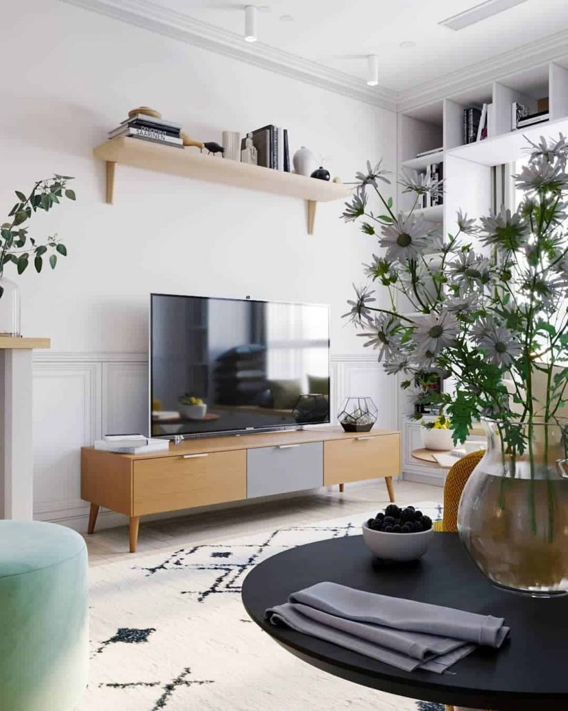 TV Wall Decor: How To Decorate A TV Wall Stylishly
