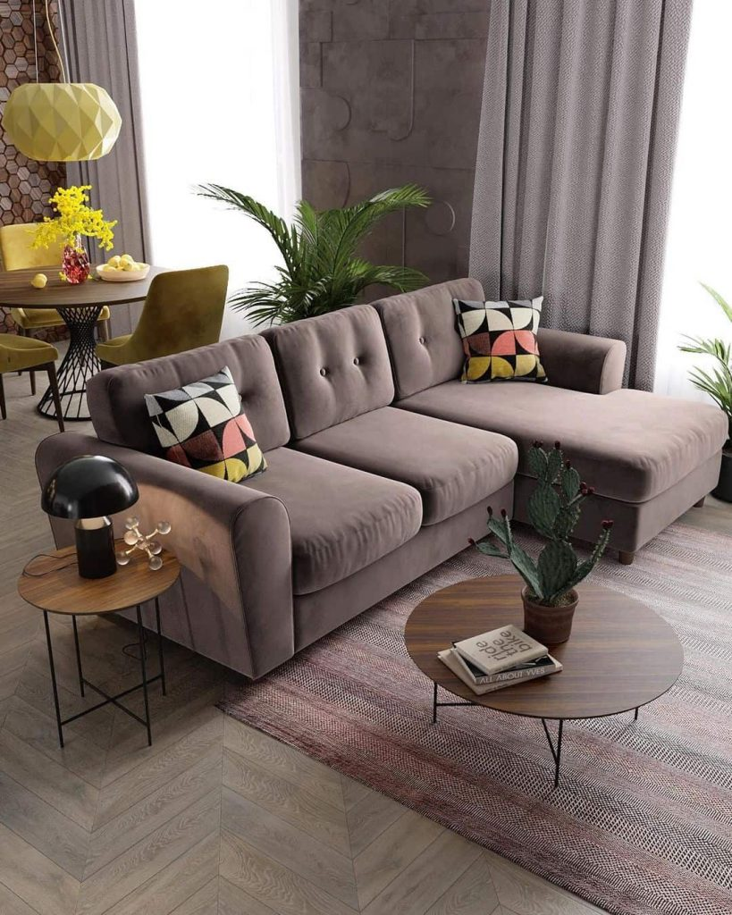 How To Decorate The Space Behind The Sofa{+ Tips to Hide a Bad Back}