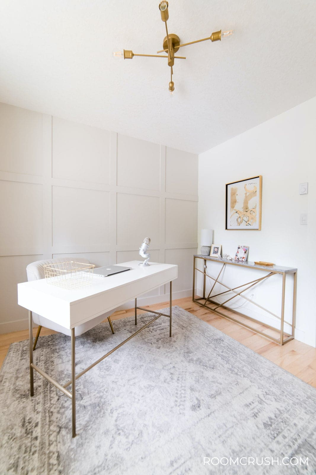 9 Unique Ways To Decorate Your Home Office makeover roomcrush