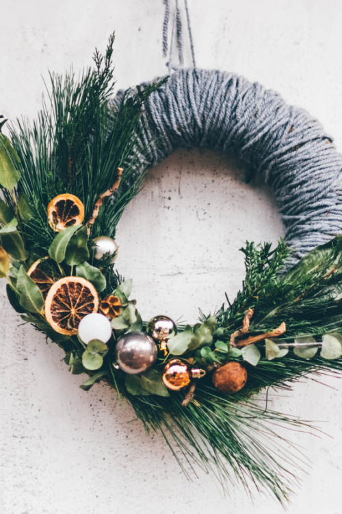 How To Spruce Up a Store Bought Wreath