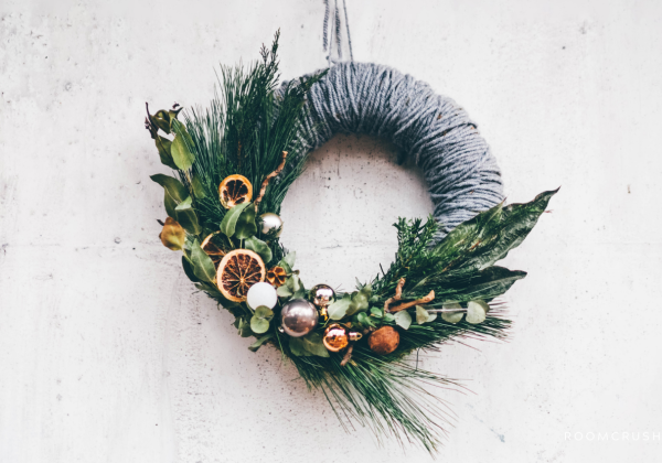 Spruce Up a Store Bought Wreath