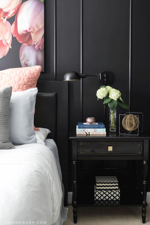 black bedroom paint inspiration