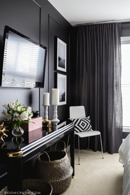 black bedroom reveal design styles