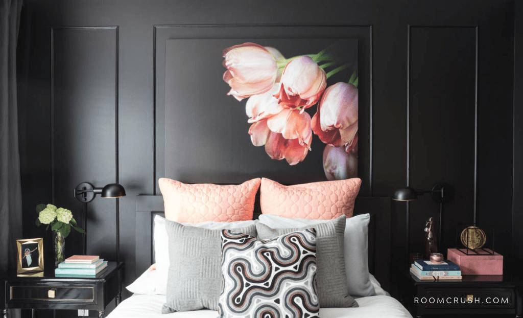 room crush featured black bedroom paint ideas