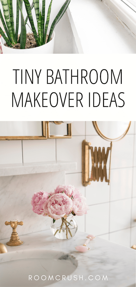 Amazing tiny bathroom makeover ideas you need to try