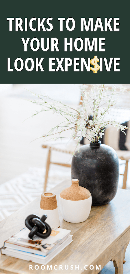 how to make a home look expensive with stylish console table decor ideas